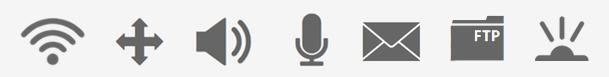 Cámatas con wifi, movimiento, microfono, altavoces, infrarrojos, etc...